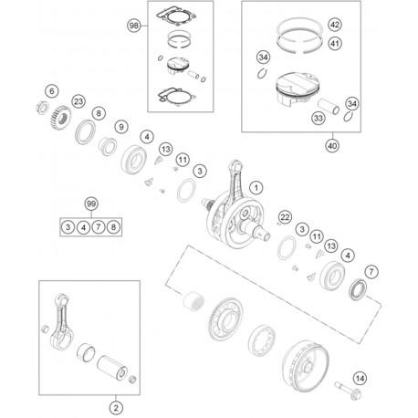 Ref 04 - BEARING NJ 206 ECP/HN3C4HVA624