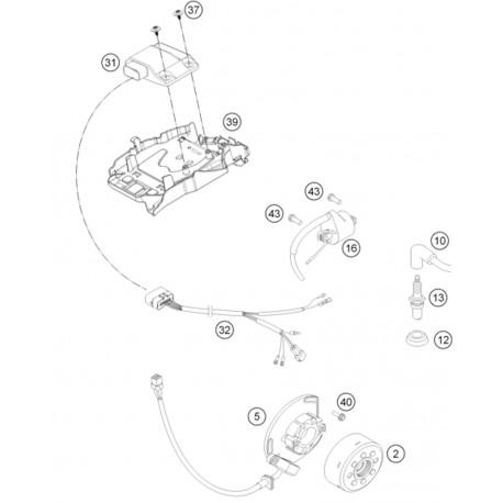 Ref 40 - HH COLLAR SCREW M5X16 TX30