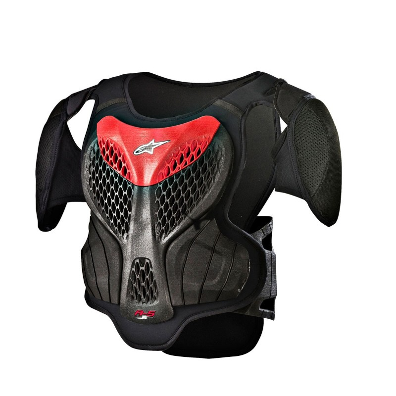 Thor MX NEW Guardian Chest Protector Black Silver Motocross Body Armour Body Armour & Protectors XL/2XL