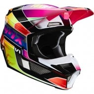 CASCO INFANTIL FOX V1 YORR 2020 MULTICOLOR