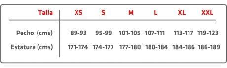 63870ef866 Información sobre tallas
