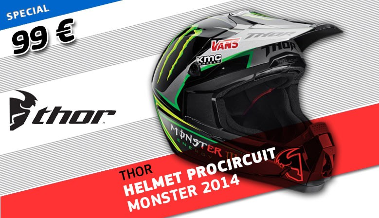 Thor Procircuit Monster Helmet 2014