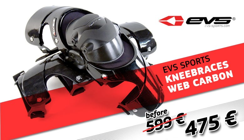 EVS WEB CARBON RACING KNEEBRACES